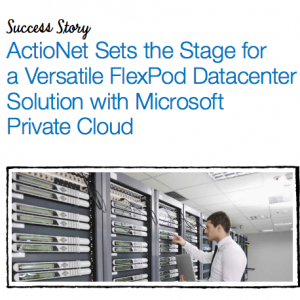 ActioNet Featured in Cloud Success Story