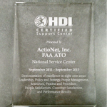 HDI Certified Support Center Certified since 2011