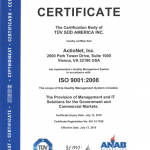 ISO 9000 Certified since 2006