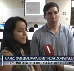 ActioNet MapGive Featured On Peru National TV Channel 7