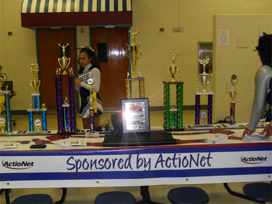 ActioNet Sponsors Bowie High School (BHS) Cheerleaders