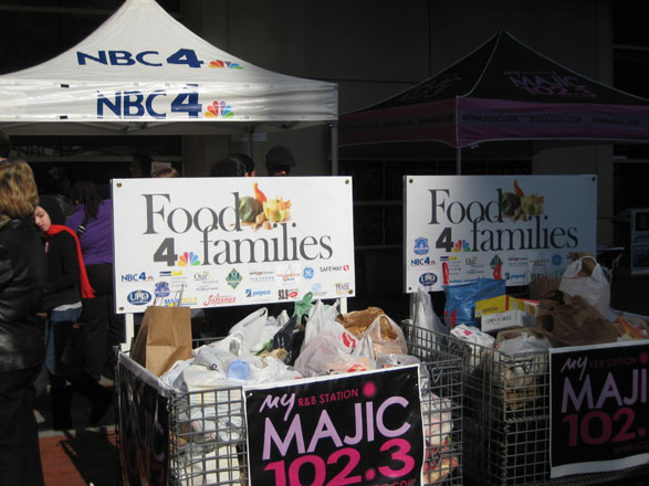 ActioNet Supports the NBC4 Food 4 Families