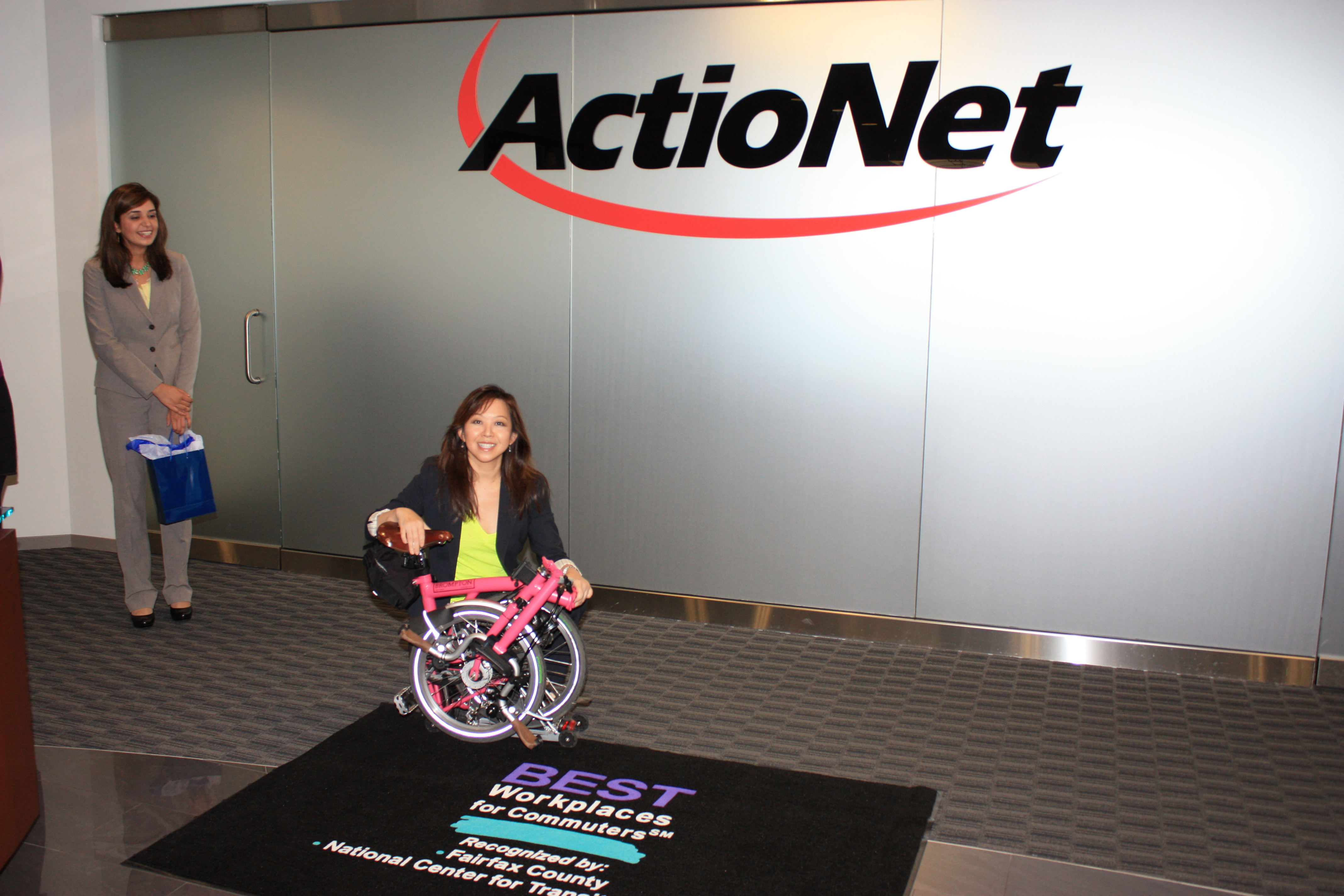 ActioNet is One of the Fairfax County Best Workplaces for Commuters℠