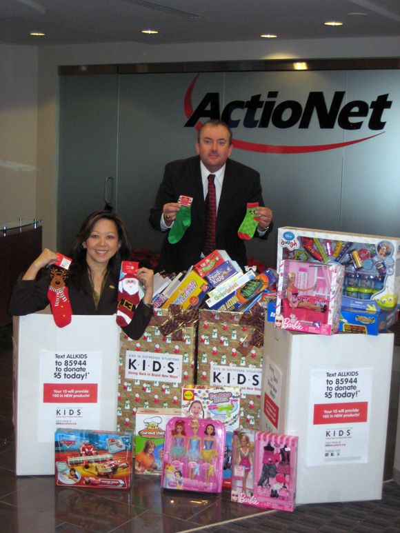 ActioNet Supports Kids In Distressed Situations (K.I.D.S.)