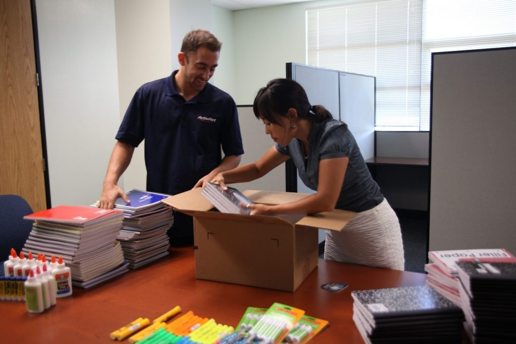 Donating School Supplies to the Keiki of Hawaii