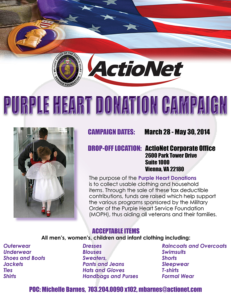 Purple Heart Donations