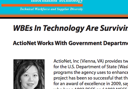 WBEs In Technology Are Surviving & Thriving