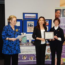 ActioNet President & CEO Receives Trailblazing Women in Business Award from Fairfax County