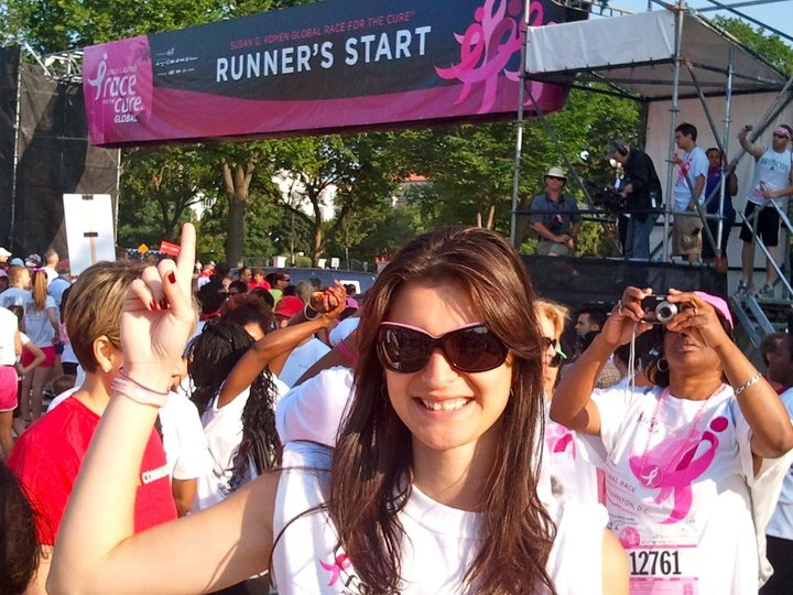ActioNet supports Susan G. Komen Global Race for the Cure in Washington DC