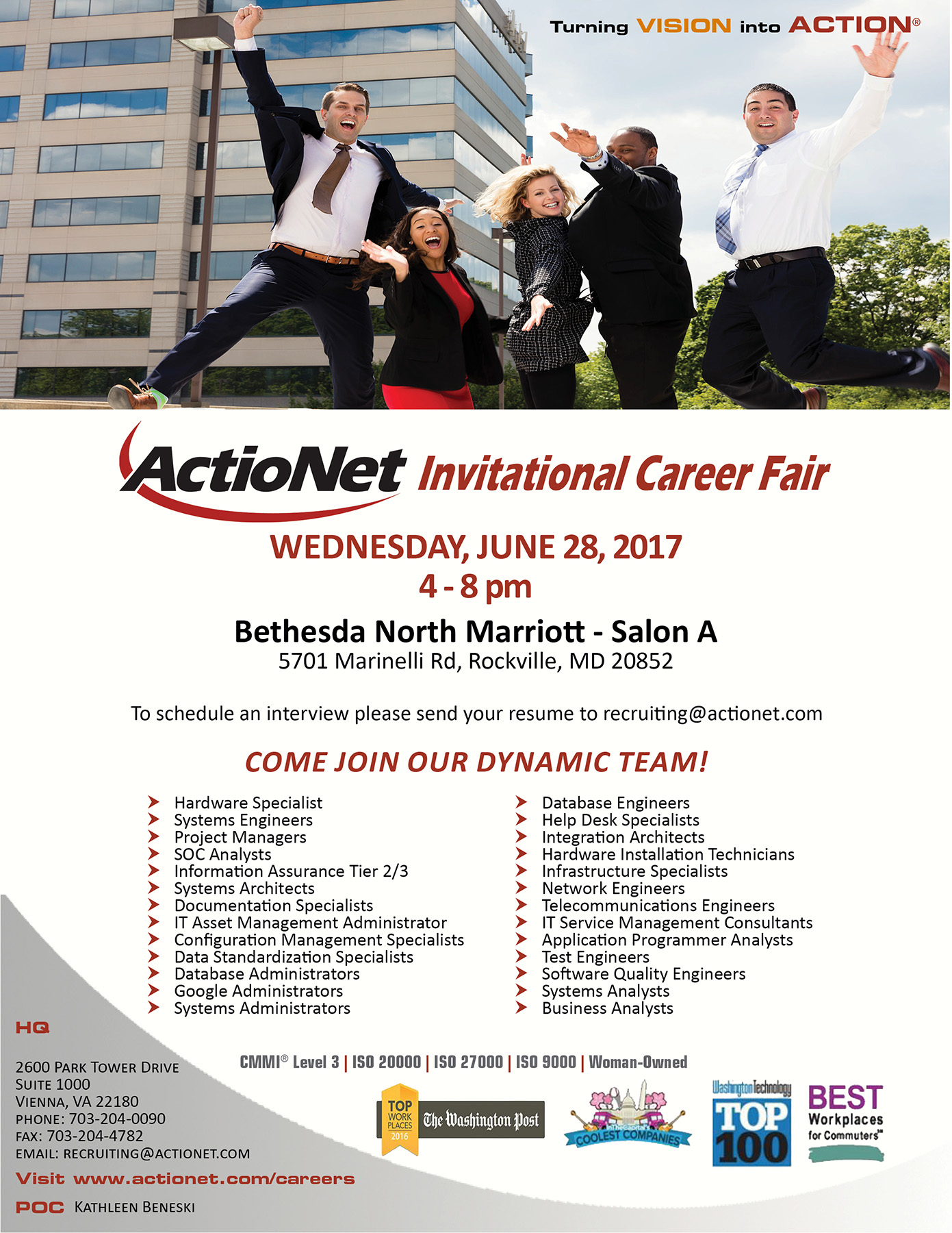 Invitational Career Fair