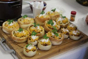 Mini chili bowls were a fan-favorite at the ActioNet Iron Chef competition