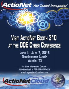 DOE Cyber Conference Flyer