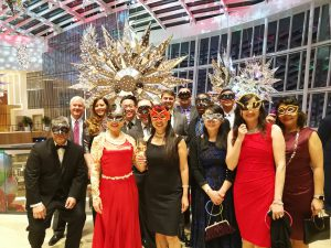 ActioNeters celebrate winter party together at MGM National Harbor