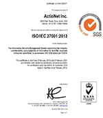 ISO 27000 Certified since 2012