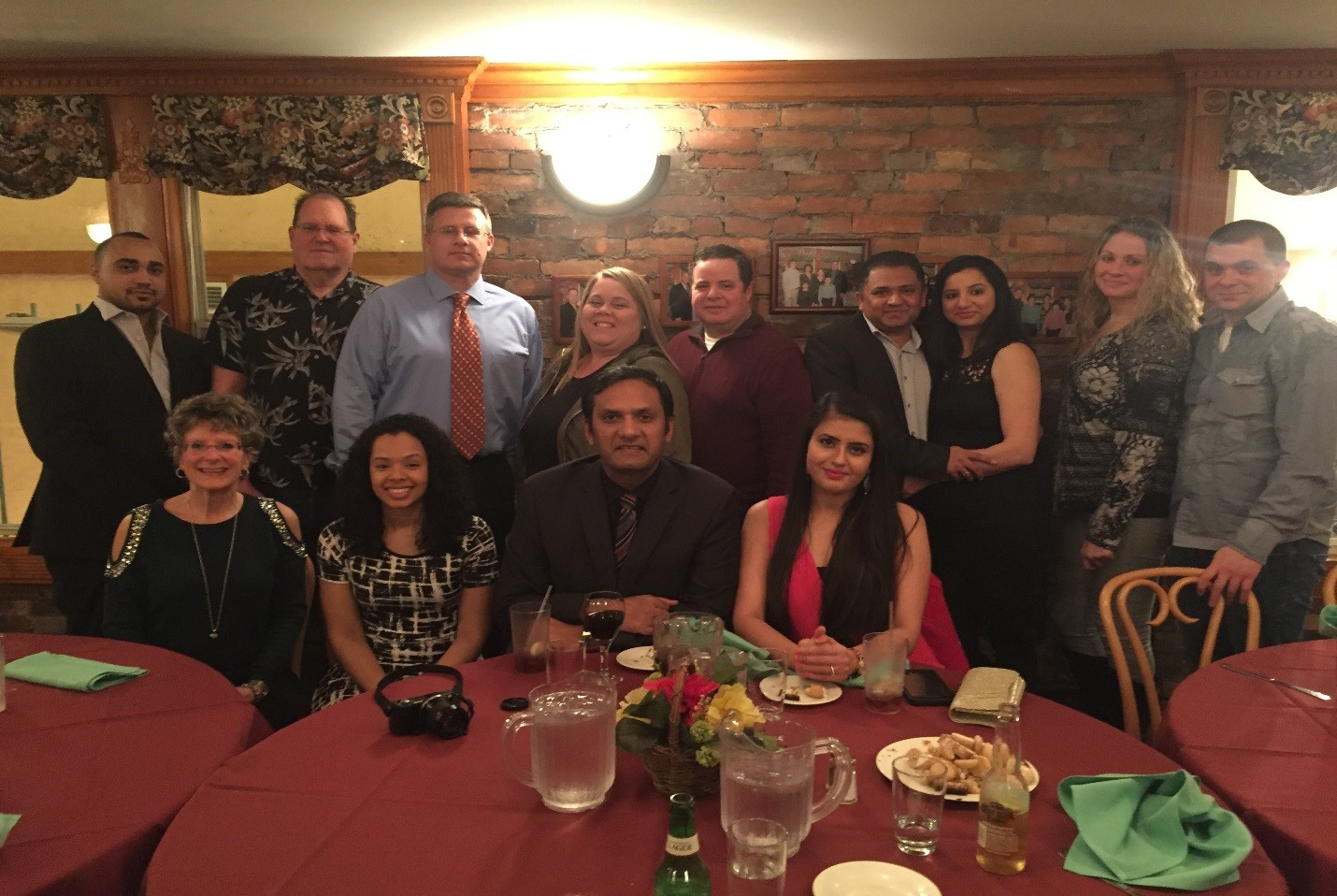 Atlantic City ActioNeters enjoyed celebrating holiday party together