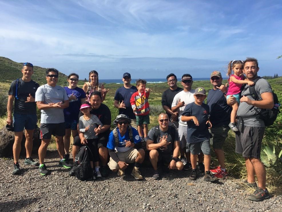 ActioNet Employees Enjoy Hike up the Makapu'u Trail