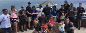 ActioNet Families take Hawaii Group Hike