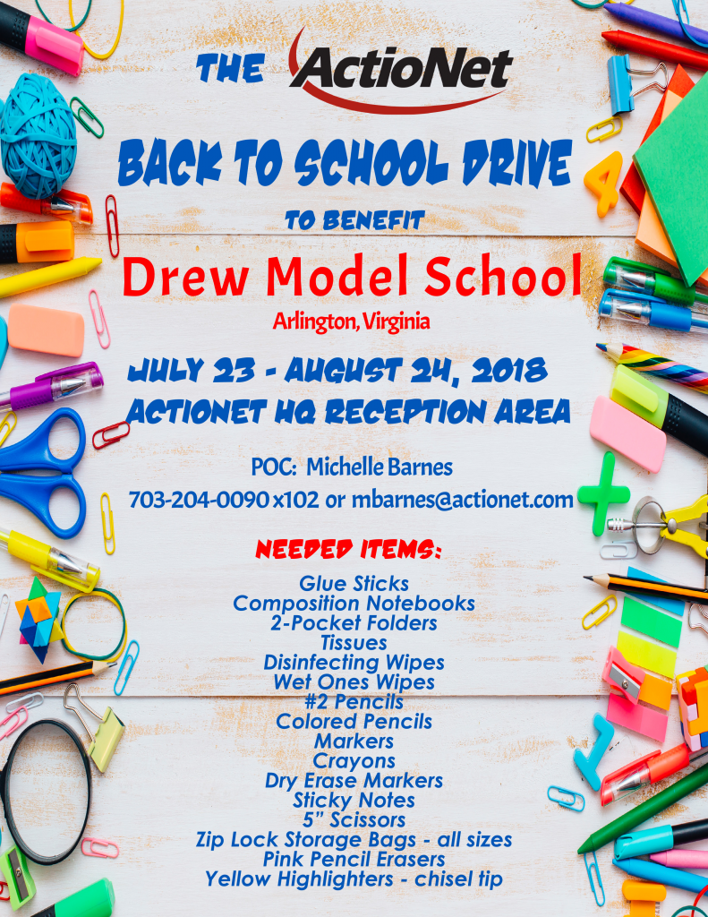 Charity Drive Flyer