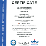 ISO 9001 Certified since 2006