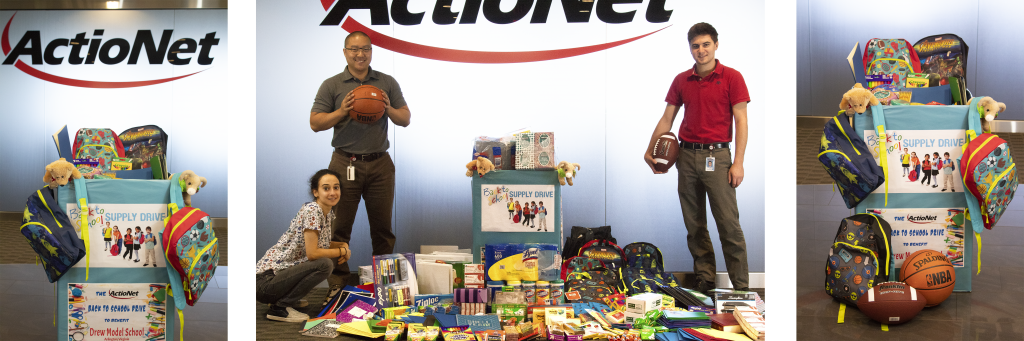 ActioNet Donates to the Drew Model School