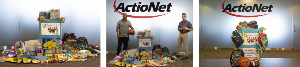ActioNet Back-to-School Drive