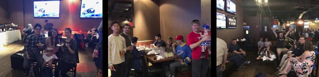 ActioNet Boston Team Dinner at Cask n Flagon Restaurant