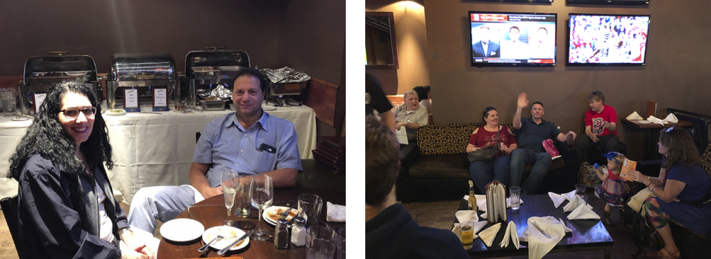 ActioNeters Gather for a Boston Dinner