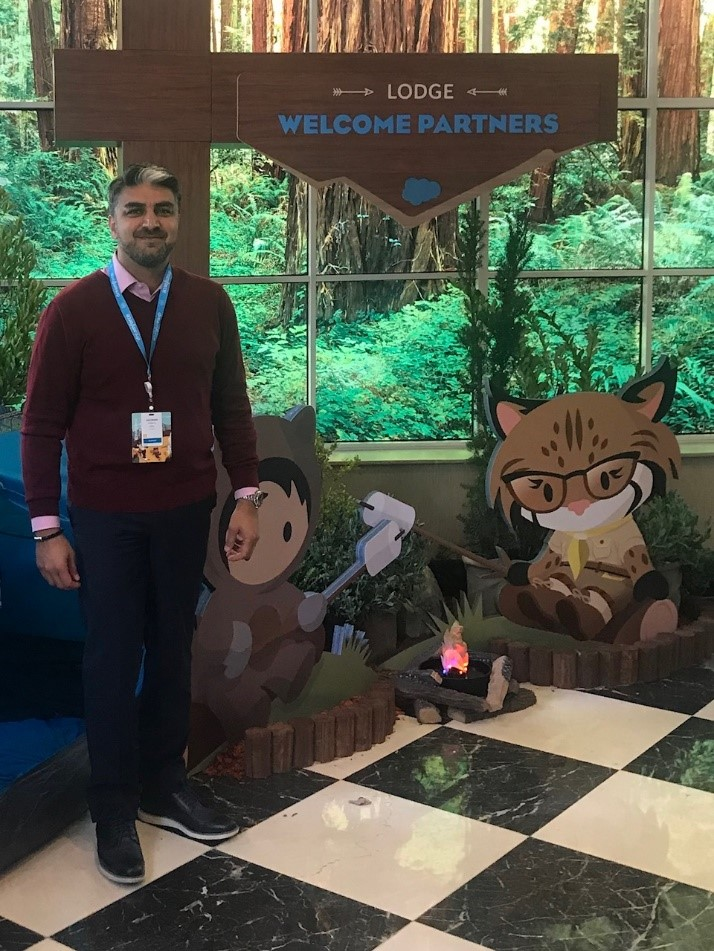 Hugh K. at the Dreamforce 2018 Event