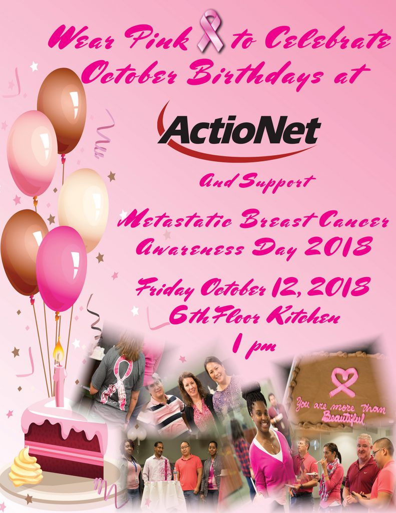 ActioNet Wears Pink for Breast Cancer Awareness Day