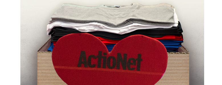 ActioNet Donates Clothes to the Salvation Army in their Spring Clothing Drive