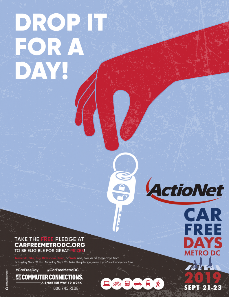ActioNet is Participating in Car Free Days 2019