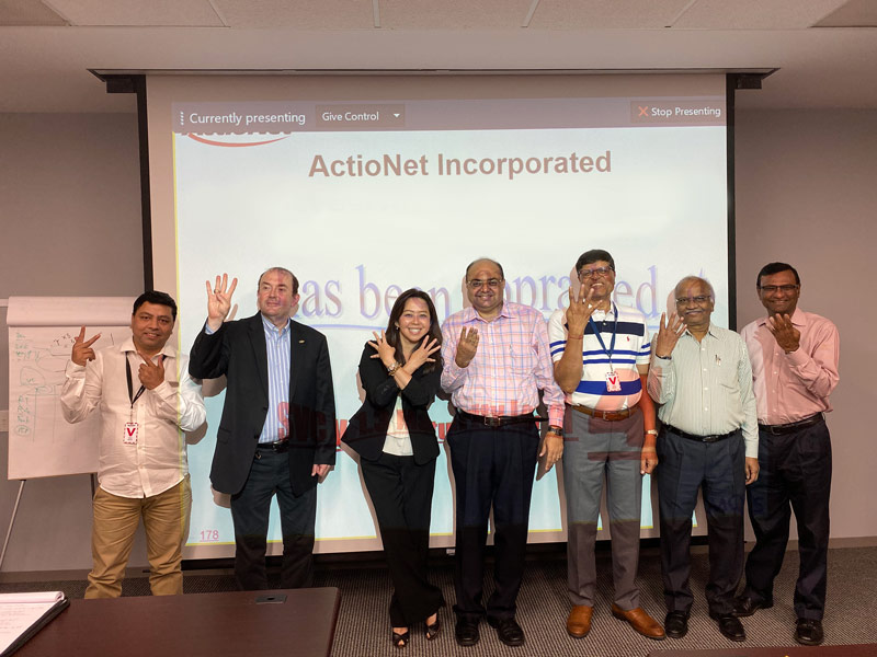 ActioNeters Put Up 4 to Celebrate a Successful CMMI Level 4 Audit