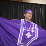 Mengistu W. in the Cultural Fashion Show