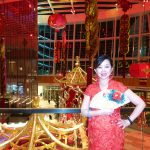 Chairperson Ashley Chen at the ActioNet Winter Party