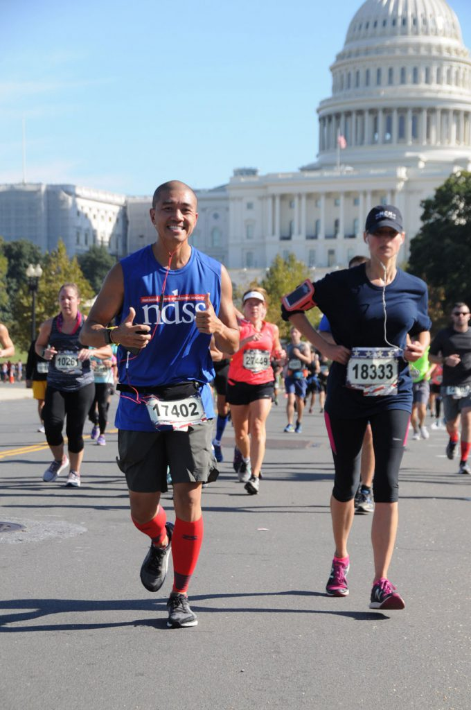 Bobby T Running for NDSS in DC