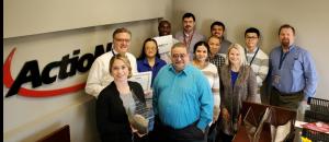 The award-winning ActioNet PSOPPC-NPSD team