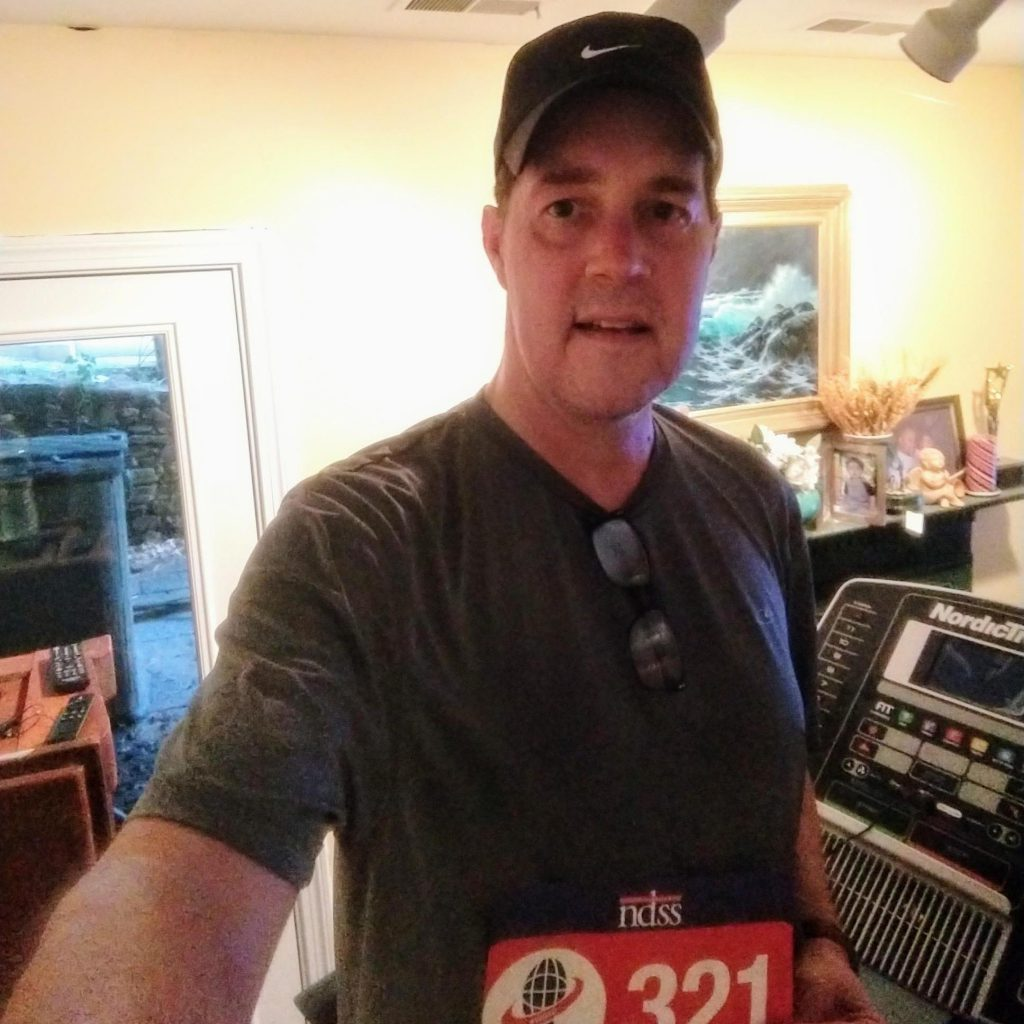 Mike F. did his part by racing for 321