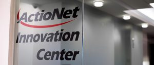 A Photo of the Entrance to the ActioNet Innovation Center