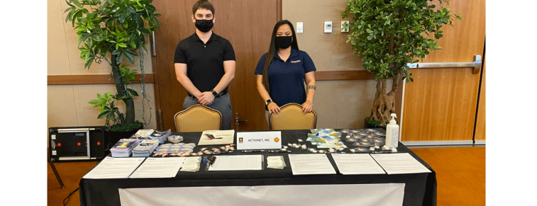 ActioNeters at the Camp Humphreys Career Fair