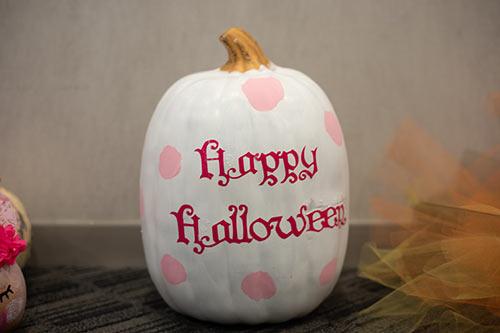 Pink Halloween Pumpkin