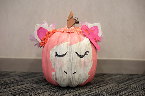 Unicorn Pink Pumpkin