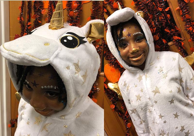 Sparkly Unicorn Halloween Costume