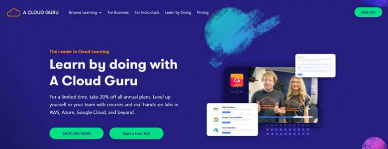 Cloud Guru Partnership Page