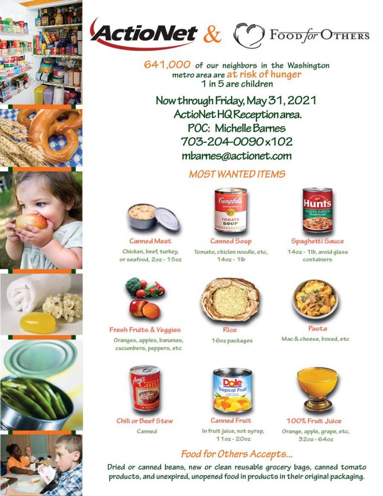 Food For Other Food Drive Flyer