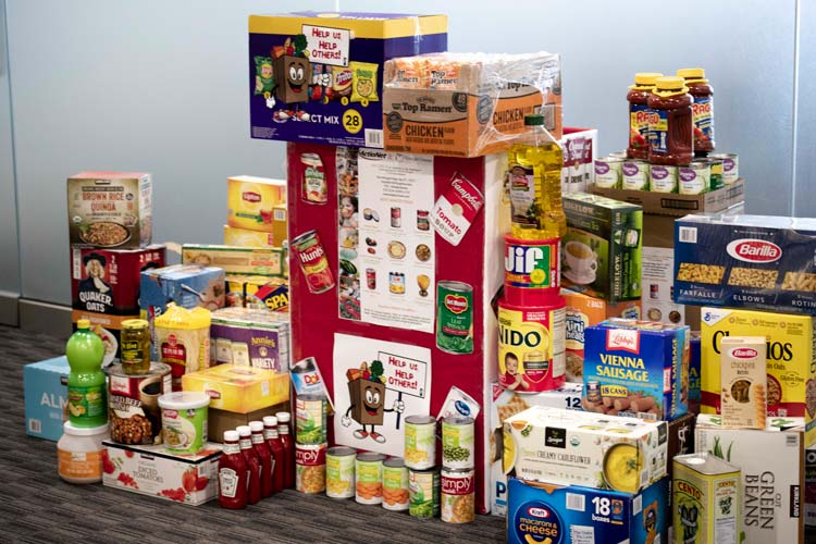 ActioNet Food for Others Donations