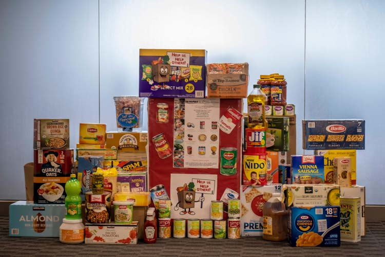 Food Donations for Charity