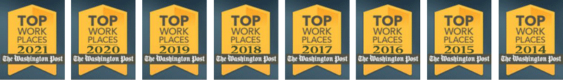 Washington Post Top Workplaces 2021