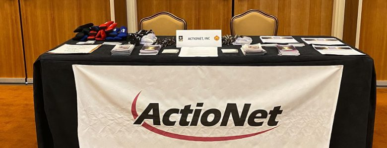 ActioNet table at the Job Fair