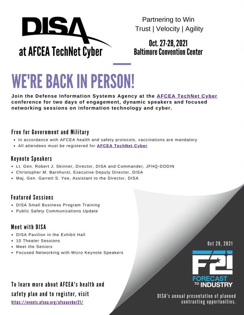 AFCEA Event Flyer